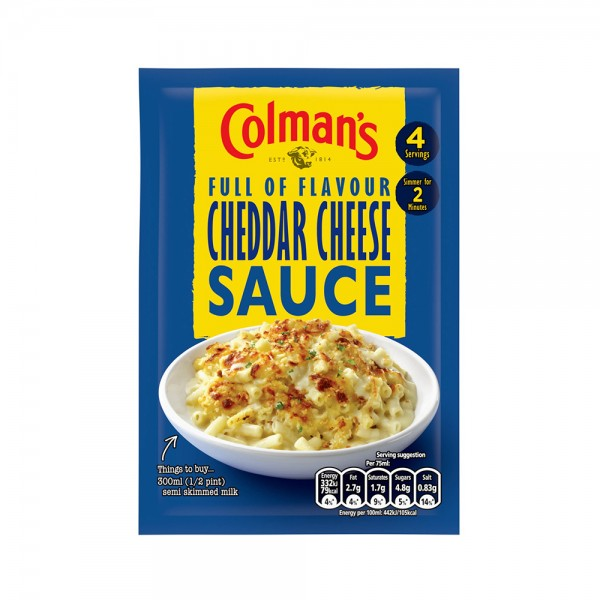 P/OVER SAUCE CHEDDAR CHEESE 324301-V001 by Colman's