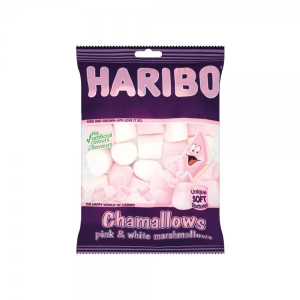 Haribo Chamallows Pink + White Bag - 70G 325124-V001 by Haribo