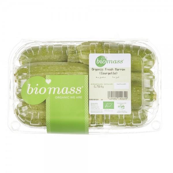 Biomass Organic Courgette 750G 325133-V001 by Biomass