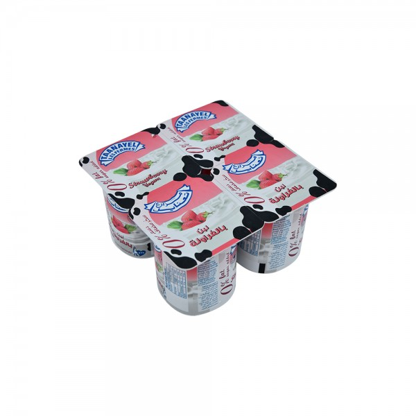 Fermes Taanayel Strawberry Yogurt 0, 125g 325148-V001 by Taanayel Les Fermes