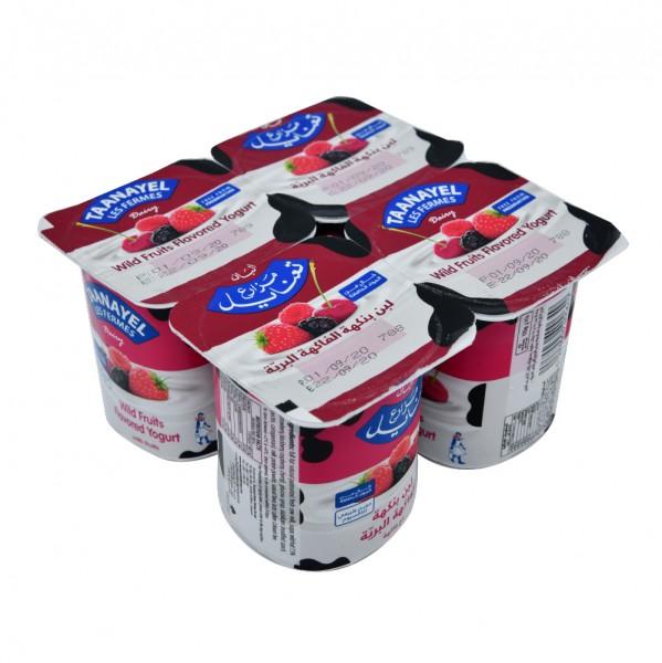 Fermes Taanayel Wild Fruit Yogurt 125g 325151-V001 by Taanayel Les Fermes