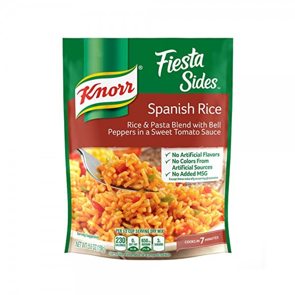 FIESTA SIDES SPANISH RICE 326503-V001 by Knorr