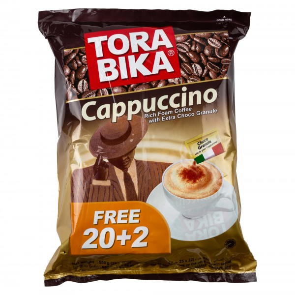 Torabika Cappuccino Sachet 25G 328513-V001 by Tora Bika