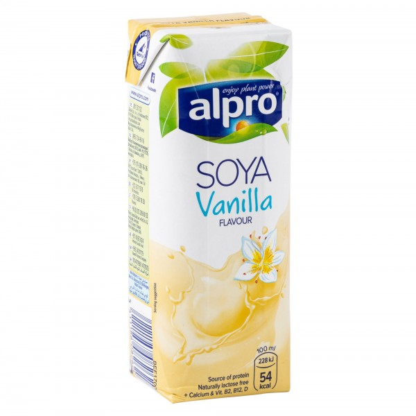Alpro Soya Vanilla Drink 1L 331950-V001 by Alpro