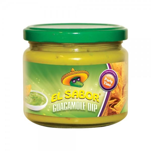 El Sabor Qaucamole Dip 300G 332082-V001 by El Sabor