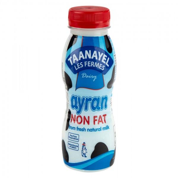 Taanayel Les Fermes Ayran Non Fat 250G 332716-V001 by Taanayel Les Fermes