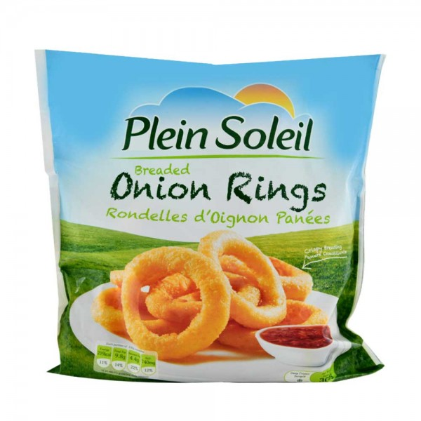 P.Soleil Breaded Onion Rings - 300G 332802-V001 by Plein Soleil