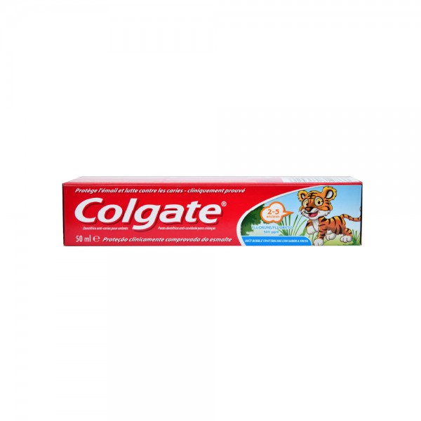 Colgate Kids Bubble Fruit Gel 2 5 years old Toothpaste 50ml 333204-V001 by Colgate
