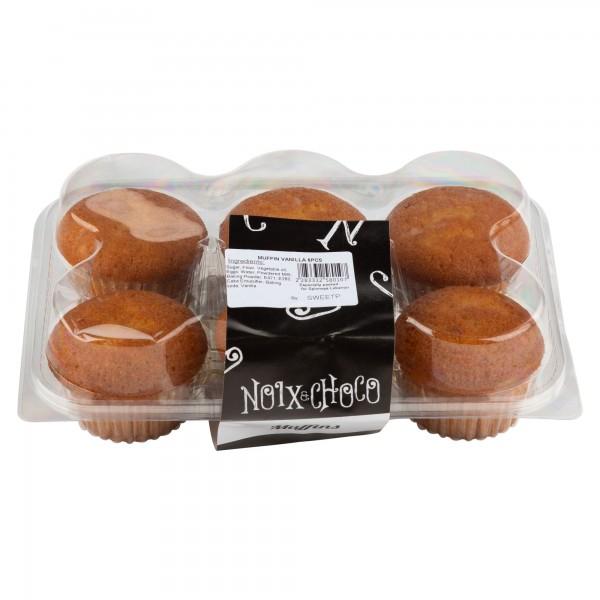 Noix Et Choco Muffin Vanilla 6 Pieces 333258-V001 by Noix & Choco