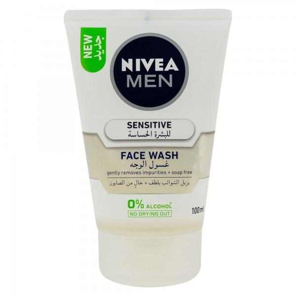 Nivea Men Sensitive Face Wash 100ml 333338-V001