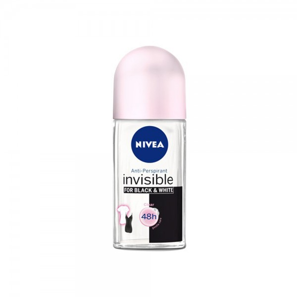Nivea Roll On Black & White For Her 50Ml 333623-V001