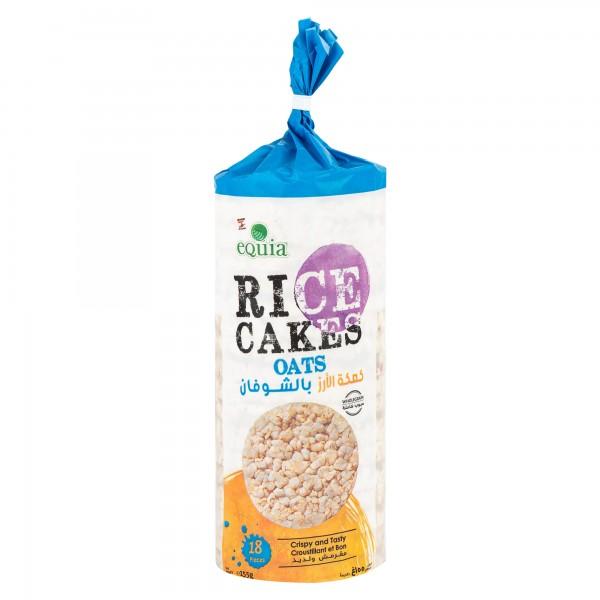 Equia Oats & Brown Rice Cake 175G 334329-V001 by Equia