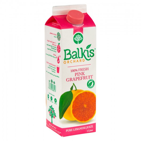 Balkis Pink Grapefruit Juice Tetra Carton 1L 334591-V001 by Balkis Orchard