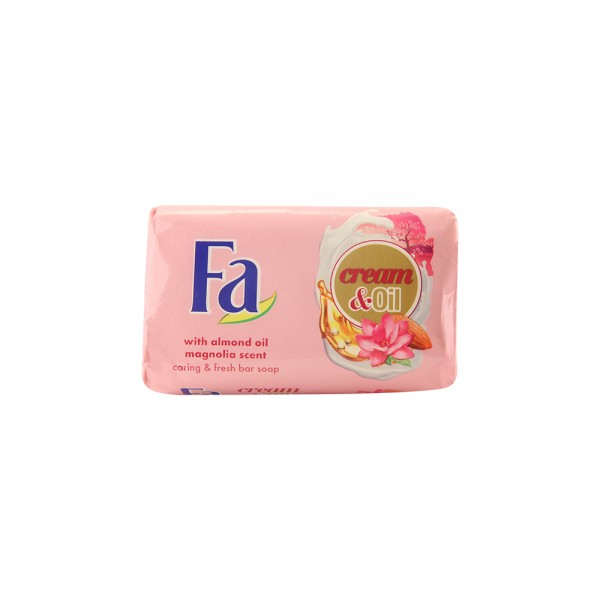 Fa Bar Soap Cream & Oil Silk & Magnolia 125G 334818-V001 by Fa