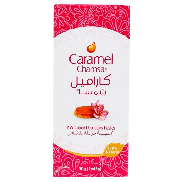 Chamsa Caramel 2 Wrapped Depilatory Pastes 90G 335792-V001 by Chamsa