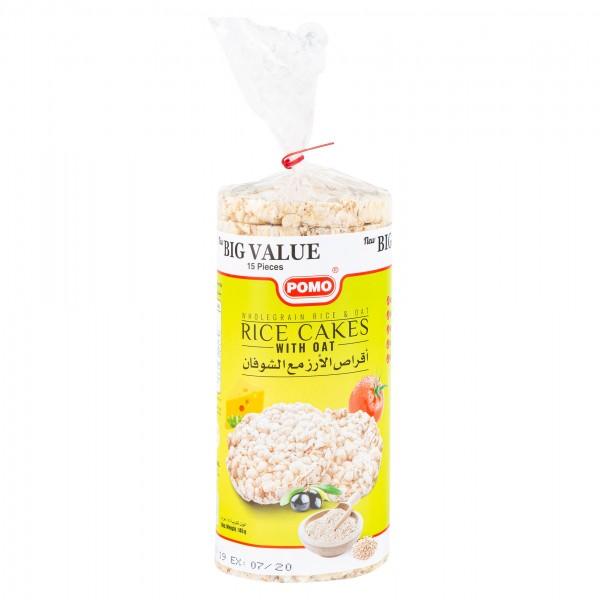 Pomo Gluten Free Rice Cakes With Oat 145G 335871-V001 by Pomo