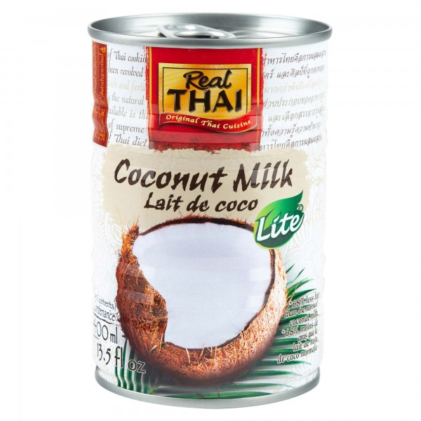 Real Thai Coconut Milk Low Fat 400ml 337504-V001 by Real Thai