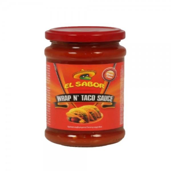 El Sabor Wrap N Taco Sauce 337547-V001 by El Sabor