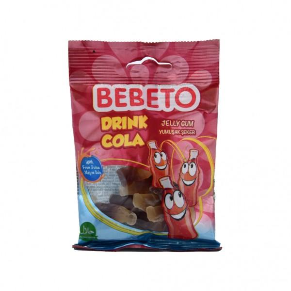 Bebeto Kervan Jelly Gum Drink Cola - 40G 337654-V001 by Bebeto