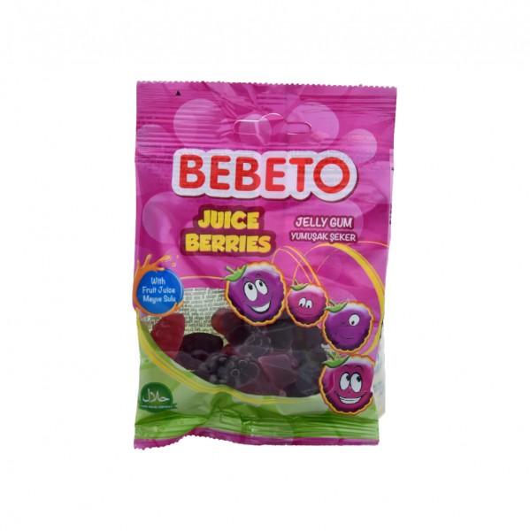 Bebeto Kervan Jelly Gum Juice Berries - 40G 337658-V001 by Bebeto