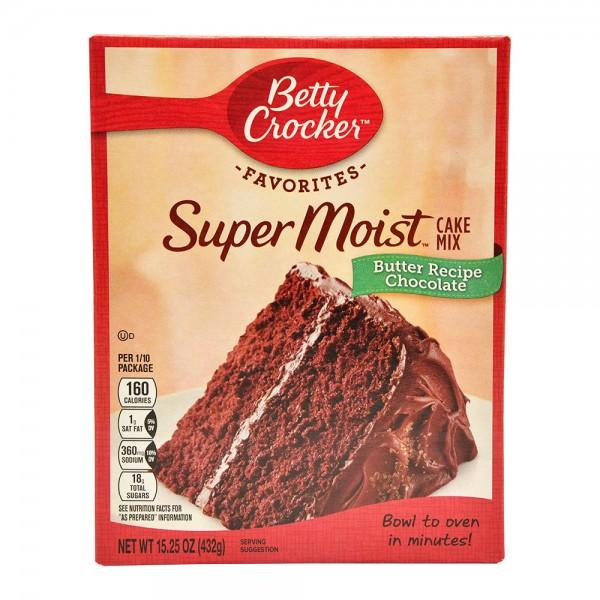 Betty Crocker Super Moist Favorites Butter Recipe Yellow Cake Mix 18.2oz 339737-V001 by Betty Crocker