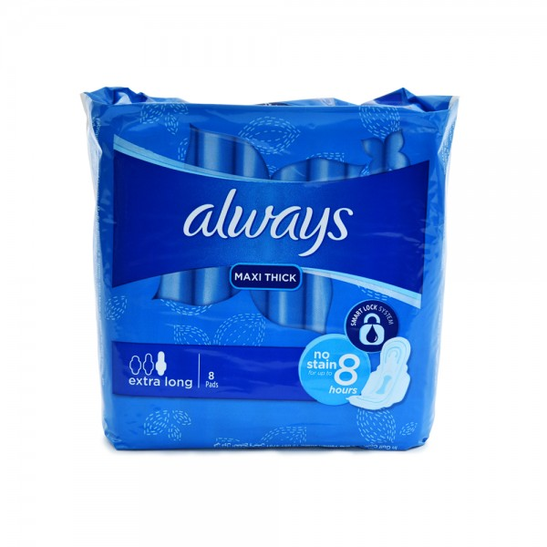 Always Maxi Thick Extra Long 8 Pieces 340649-V001 by Always