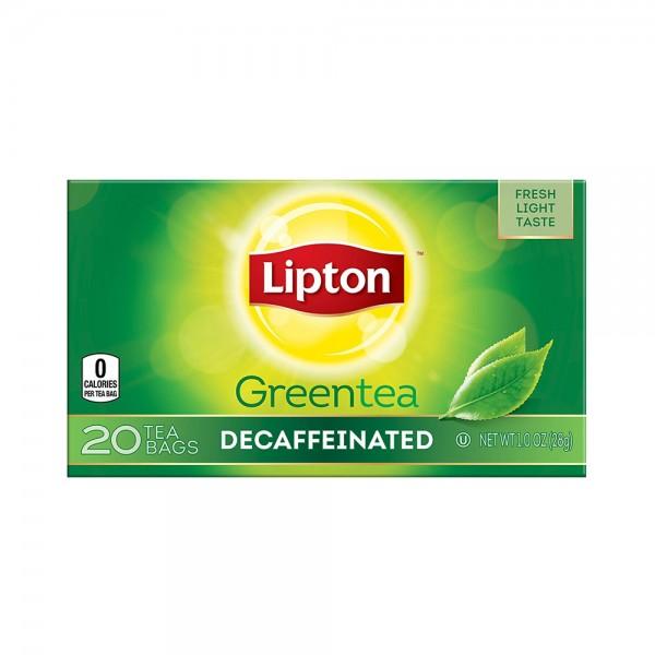 TEA BAGS GREEN DECAF 341534-V001 by Lipton
