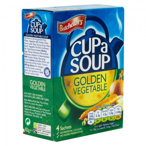 Batchelors Cup A Soup Golden Vegetable 82G 345788-V001 by Batchelors
