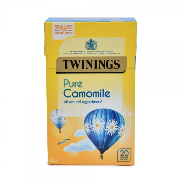 TWININGS Pure Camomile - 20 Single Tea Bags 345895-V001 by Twinings