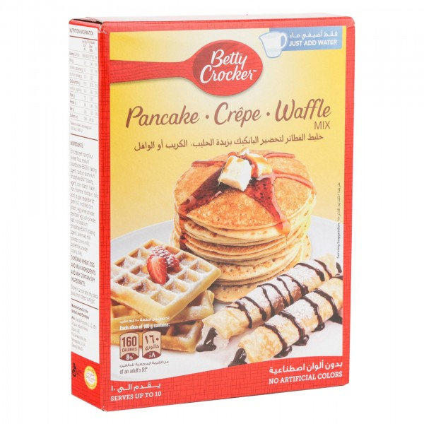 Betty Crocker Pancake. Crepe. Waffle Mix 360G 347144-V001 by Betty Crocker