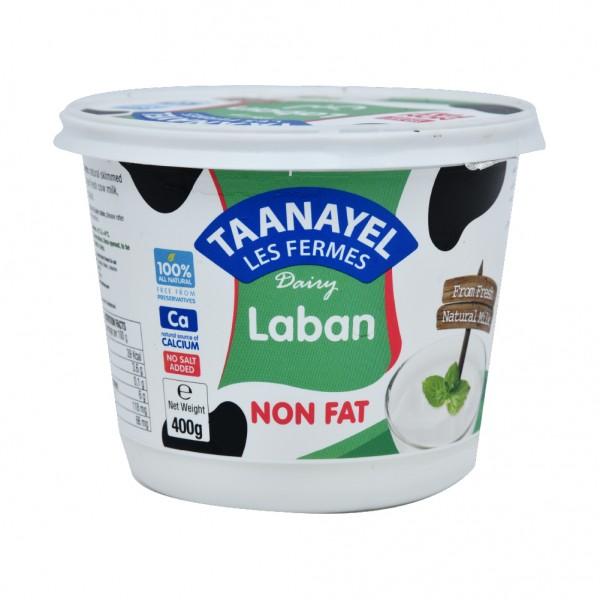 Fermes Taanayel Laban 0 fat 400g 348114-V001 by Taanayel Les Fermes