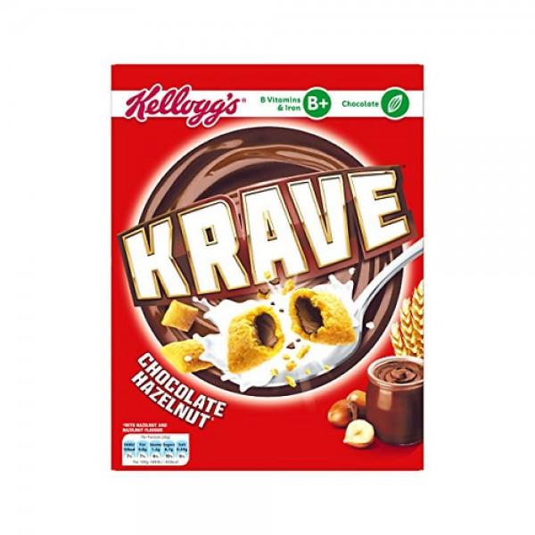 Kellogg's Krave Choco Hazelnut 348356-V001