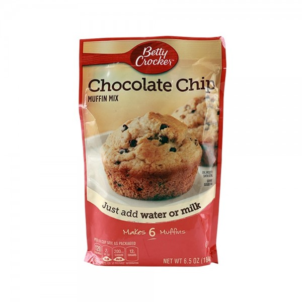 MUFFIN MX POUCH CHOCOLATE CHIP 349960-V001 by Betty Crocker