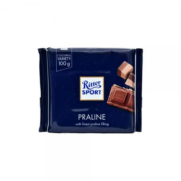 R.Sport Milk Choc Praline - 100G 350868-V001 by Ritter Sport