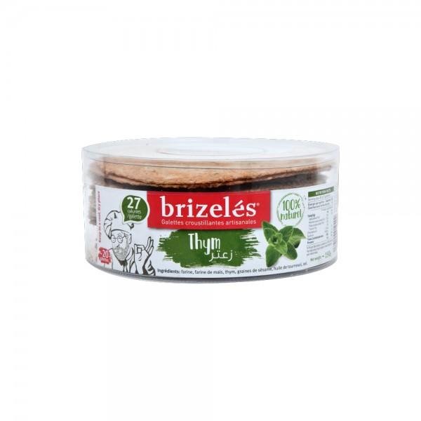 Brizeles Galettes Zaatar 20PC- 180g 351868-V001 by Brizelés