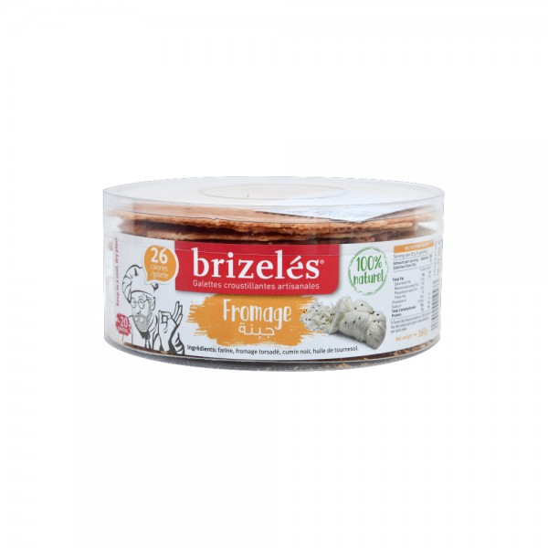 Brizeles Galettes Fromage 20PC- 160g 351873-V001 by Brizelés