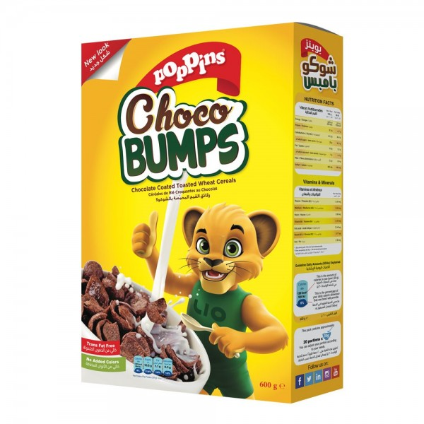 Poppins Choco Bumps Cereal 600G 352491-V001 by Poppins