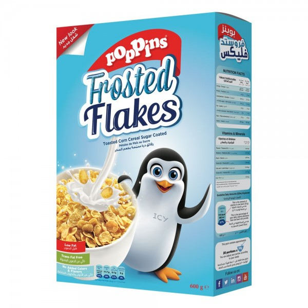 Poppins Frosted Flakes 600G 352593-V001 by Poppins