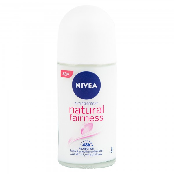 Nivea Roll On Natural Fairness For Her 50ml 353652-V001 by Nivea