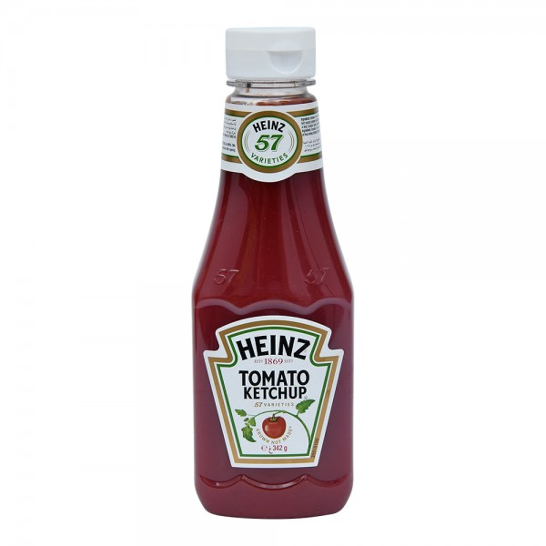 Heinz Ketchup Squeeze - 342G 355185-V001 by Heinz