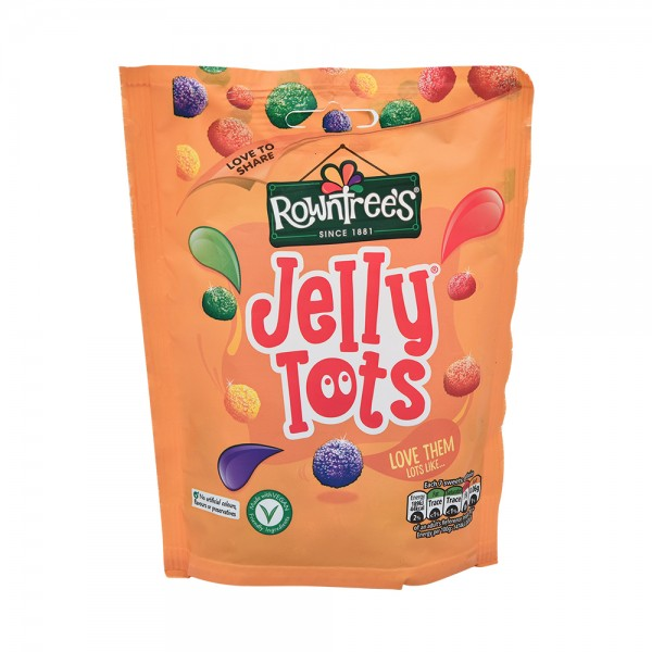 Rowntrees Jelly Tots - 150G 356838-V001 by Nestle