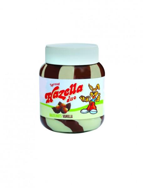 Hazella Hazelnut & Vanilla Spread Jar 375G 357146-V001 by Hazella