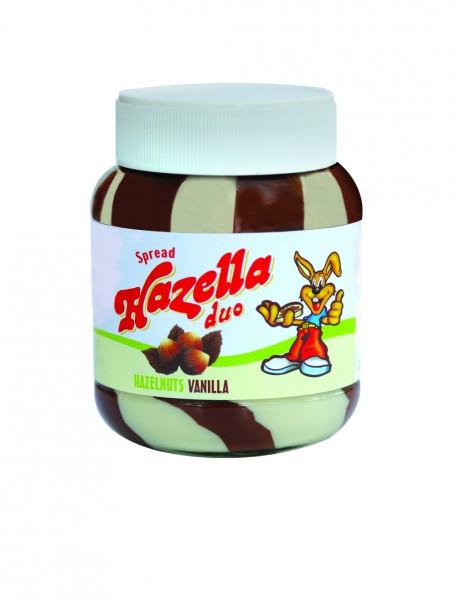 Hazella Hazelnut & Vanilla Spread Jar 700G 357147-V001 by Hazella