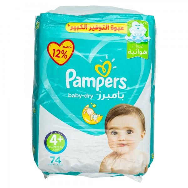Pampers Ab Mega Pack Size 4+ 357398-V001 by Pampers