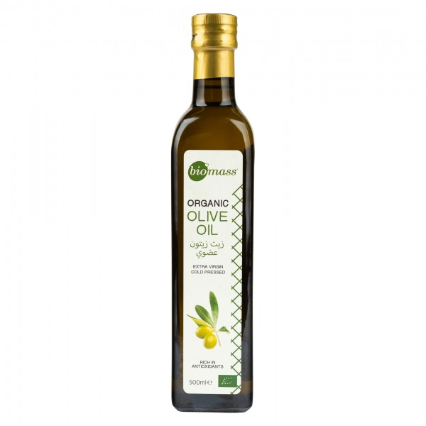 Biomass Organic Extra Virgin Olive Oil 500ml 358110-V001 by Biomass