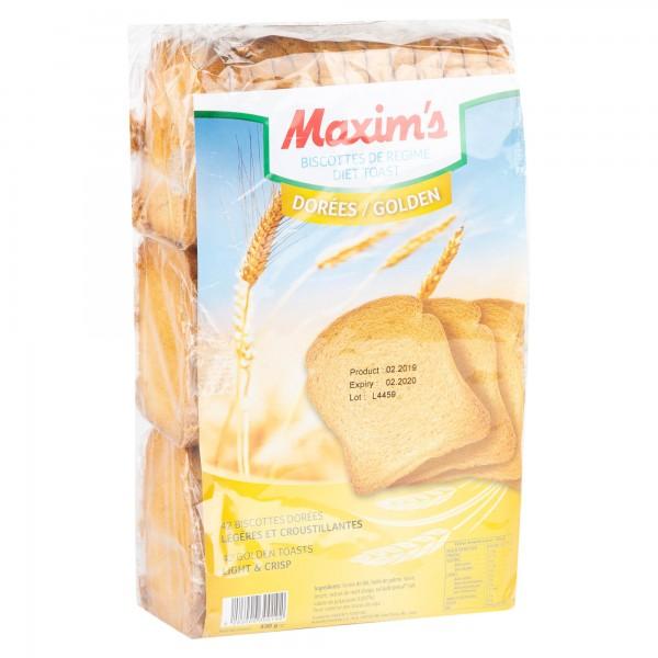 Maxim's Diet Toast Golden 42 Pieces 330G 358504-V001 by Maxim's