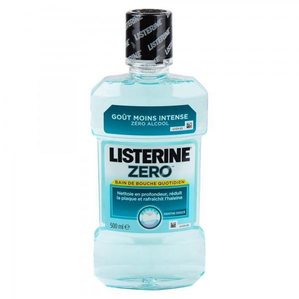 Listerine Zero Alcohol Free Mouthwash 500ml 360840-V001 by Listerine