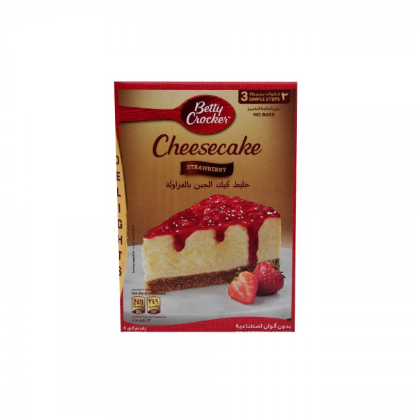 Betty Crocker Strawberry Cheesecake – No Bake 360G 361797-V001 by Betty Crocker