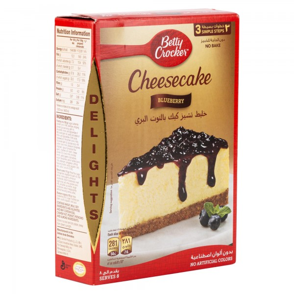 Betty Crocker Blueberry Cheesecake Mix 360G 361801-V001 by Betty Crocker