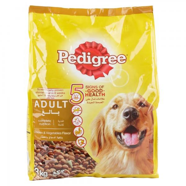 Pedigree Adult Chicken & Vegetables Flavor 3Kg 361950-V001 by Pedigree